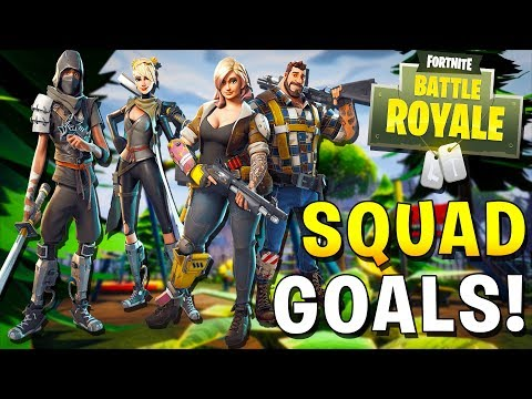 OUR SECOND WIN IN FORTNITE SQUADS!?  w/JeromeASF (Fortnite Funny Moments)