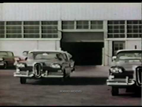 1965 ford promo film experimental 39 wrist twist 39 steering control on. Black Bedroom Furniture Sets. Home Design Ideas