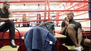 'DONT PUNCH ME TOO HARD BOSS - IM OLD ENOUGH TO BE YOUR GRANDAD' - FRANK BRUNO TELLS DANIEL DUBOIS