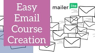 Easy Email Course Creation