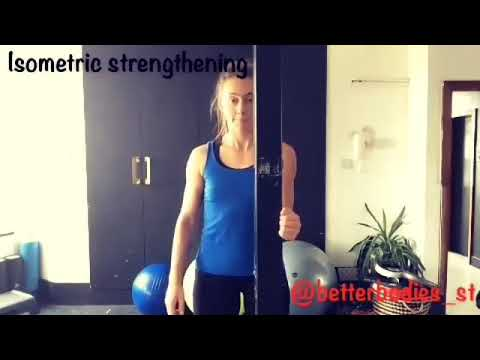Rotator Cuff Isometric Strengthening | Better Bodies Sports Therapy