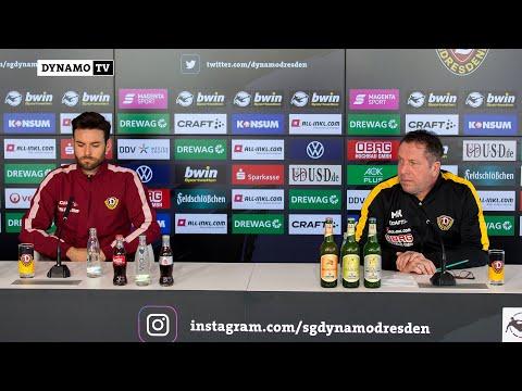 25. Spieltag | FSV - SGD | Pressekonferenz vor dem Spiel