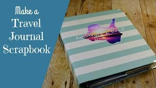 Kelley's Island Travel Journal Scrapbook Flip Through and Tips