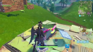 Fortnite Ravage Skin Gameplay