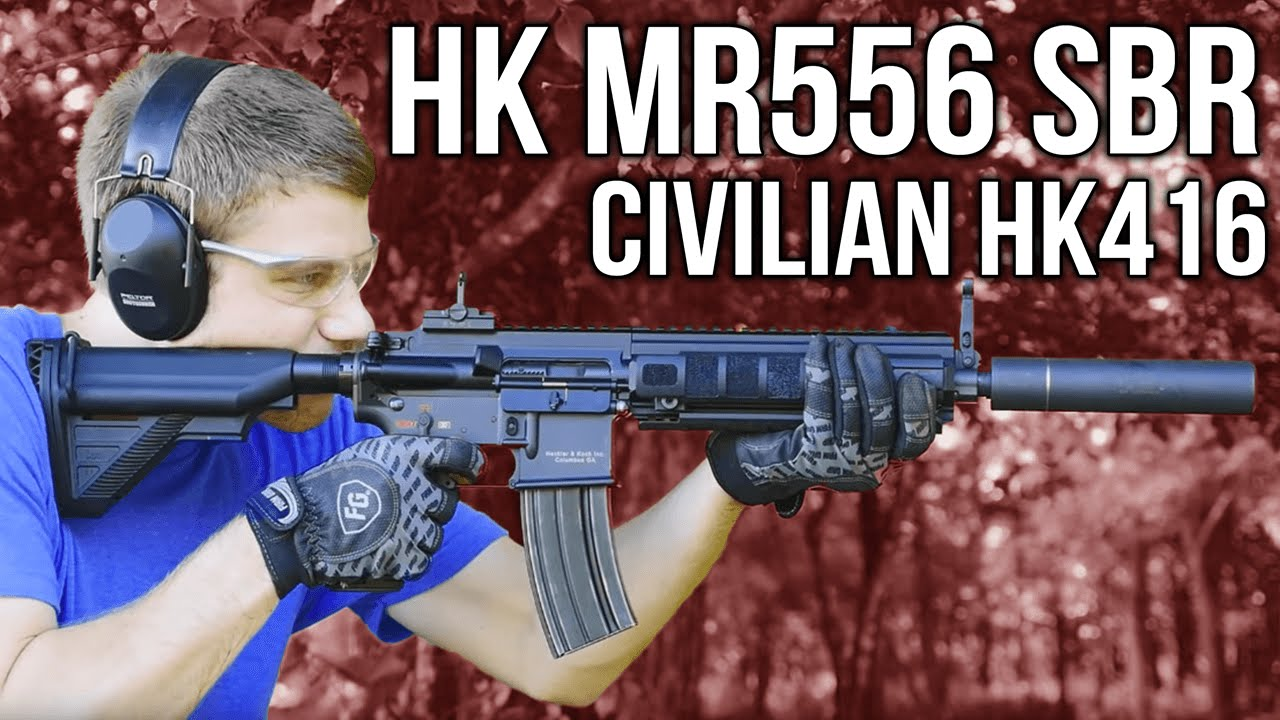 HK MR556 SBR (Civilian HK416) - YouTube