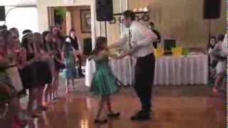 Padre e hija arrasan con su baile en la ...