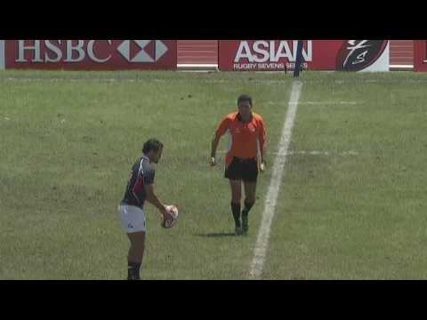 Thailand Sevens 2013 - Hong Kong v Kazakhstan - 2nd Day