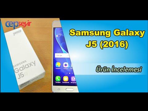 Samsung Galaxy J5 (2016) Kutu Açma ve Ürün İncelemesi