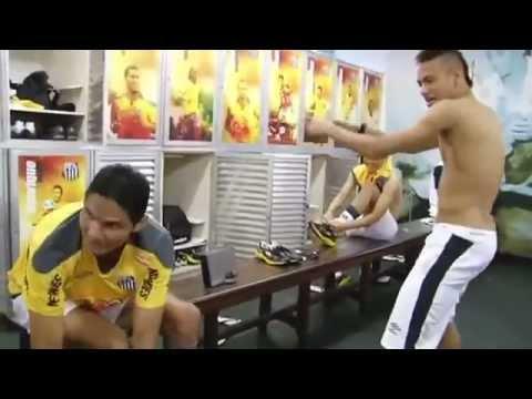 Neymar bailando ''ai se eu te pego'' [HD]