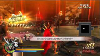 Sengoku Basara 3: Utage - Kenshin & Nobunaga Gameplay