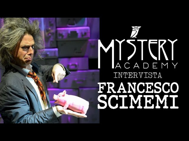 INTERVISTA A FRANCESCO SCIMEMI!