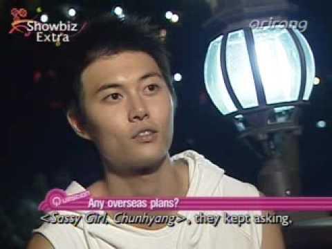 Jae Hee on Showbiz Extra