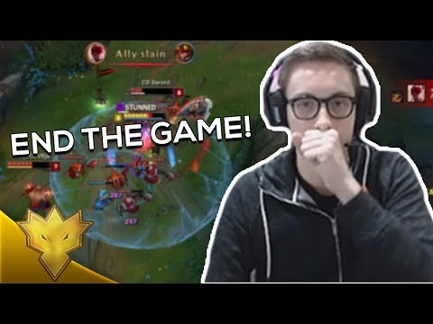 """TSM Bjergsen - """"END THE GAME!"""" - League of Legends Stream Highlights & Funny Moments"""