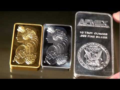 The Bullion Corner-- Episode One-- PAMP Gold and Platinum 10 oz bars, Silver Kookaburras, and more