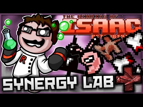 The Binding of Isaac: Afterbirth+ - Synergy Lab: ULTIMATE PINATA TEARSPLOSION!
