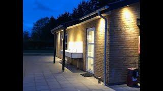 Ny toiletbygning på Asaa Camping i Nordjylland