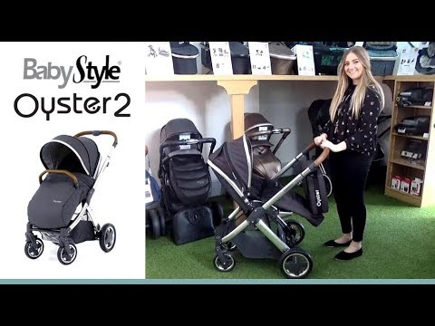 Brand New in Pack BABYSTYLE OYSTER Sun Shade avec clip en Noir