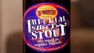Cigar City Brewing: Imperial Sweet Stout - Cognac Barrel Aged - What Cheers! Review #056