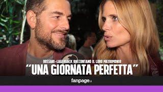 Daniele Bossari e FIlippa Lagerback raccontano il loro matrimonio