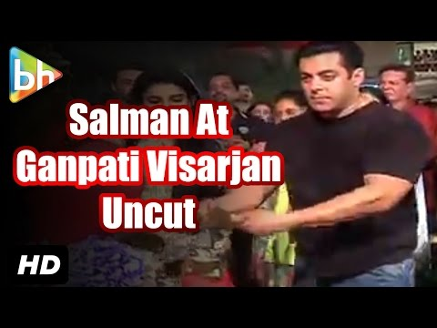 Salman Khan At Ganpati Visarjan 2015 |...