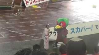 2014.8.31ファジアーン岡山vs東京ヴェルディ19:00キックオフ@カンス...