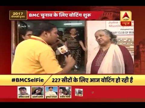 BMC Elections 2017: Actress Shubha Khote casts vote in Juhu