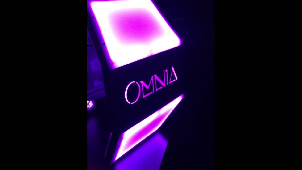 Download OMNIA Nightclub Tie Fighter bottle presentation