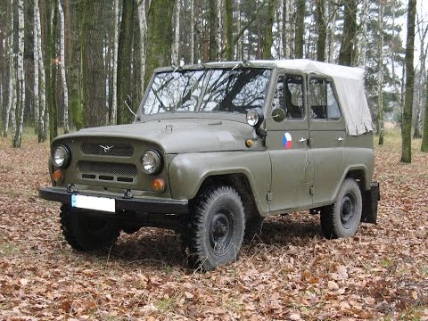 Russian off-road: The Famous UAZ-469