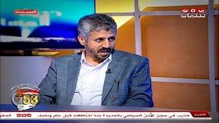 حديث المساء 1 لقاء مع قائد المقاومة الشعبية بتعز الشيخ حمود المخلافي 7-10-2016