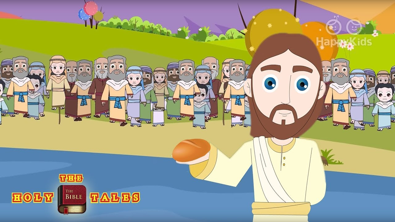 jesus feeds the five thousand i new testament stories i animated