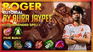 AURA JAYPEE ROGER TUTORIAL + GAMEPLAY