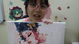 Tô màu tranh vẽ theo số tuyệt đẹp | Quà tặng 20-10 | Bé CIU & TGN trổ tài tô tranh làm quà tặng mẹ