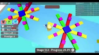 Roblox Mega Fun Obby Stages 511-600 Plus Code HholykukingamesYT Spielen