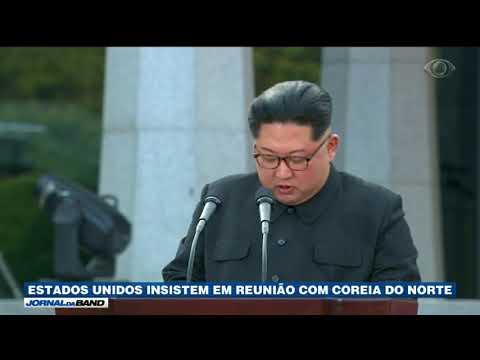 EUA Insistem Em Reunião Com Coreia Do Norte
