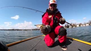 Mid Spring Lake Simcoe Perch Fishing
