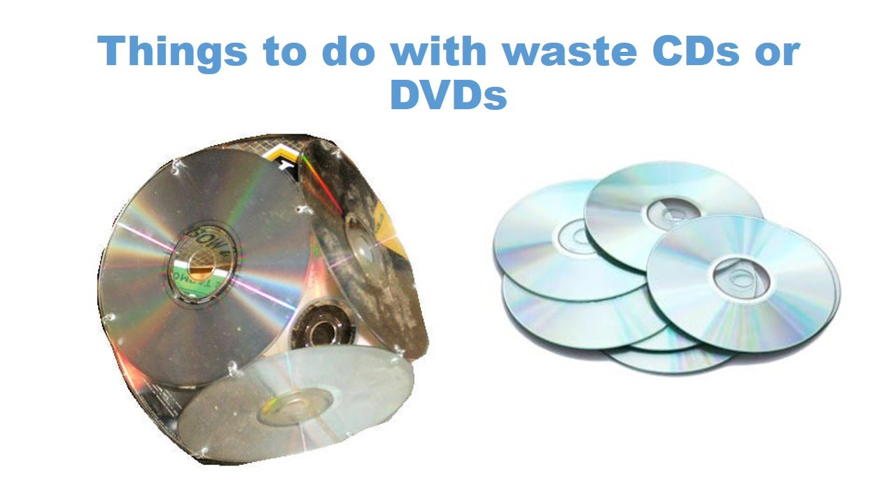 Things to do with waste cds or dvds youtube for Waste to best things