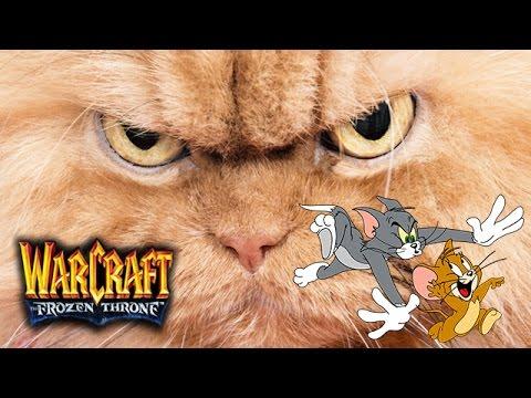 видео: warcraft 3/maps #29 Коты против Мышей