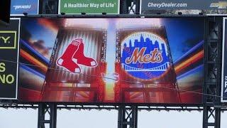 New York Mets vs. Boston Red Sox (8/30/15)