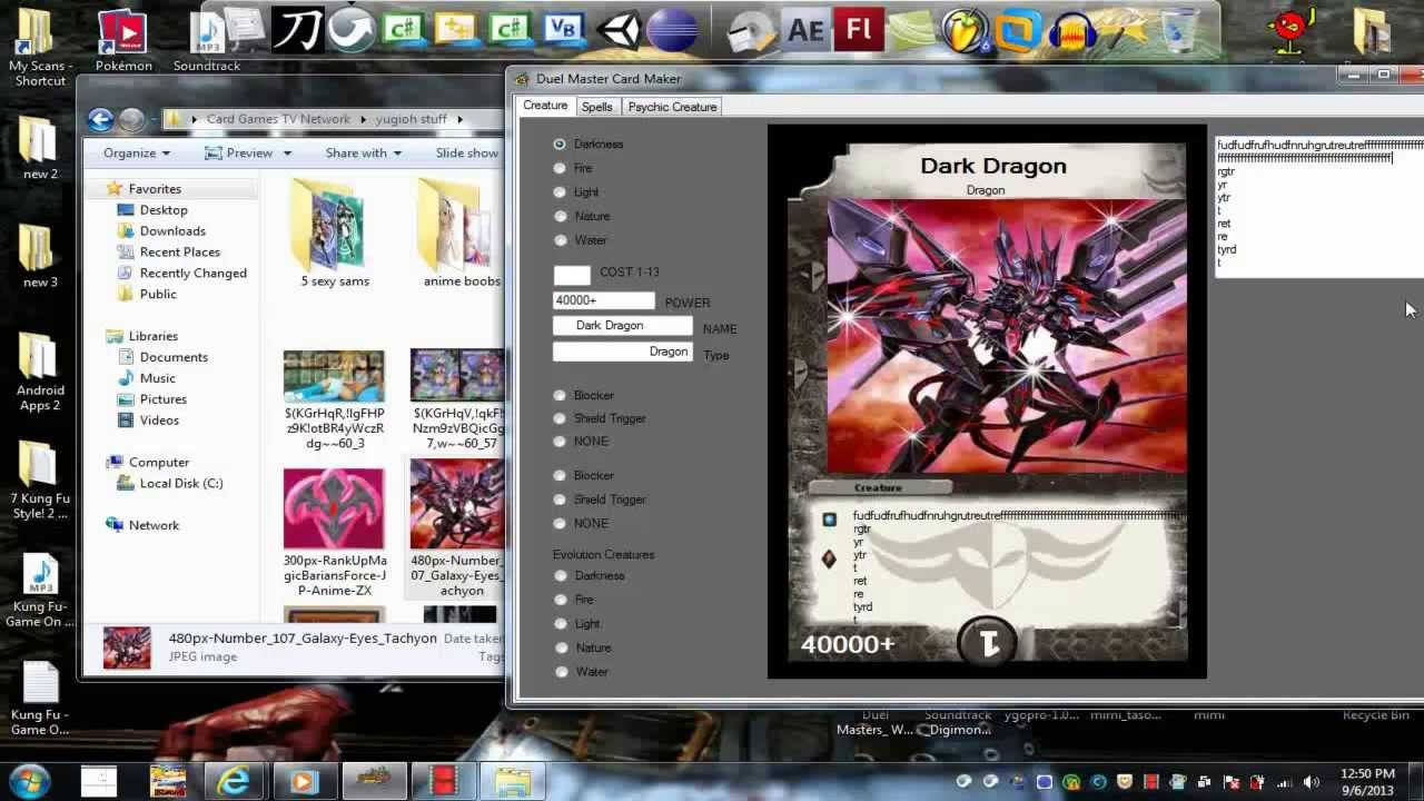 hm software inc duel masters card maker free download 2013 by