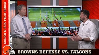 Film Room with Kosar and Fox: Browns Defense vs. Falcons | Browns Countdown