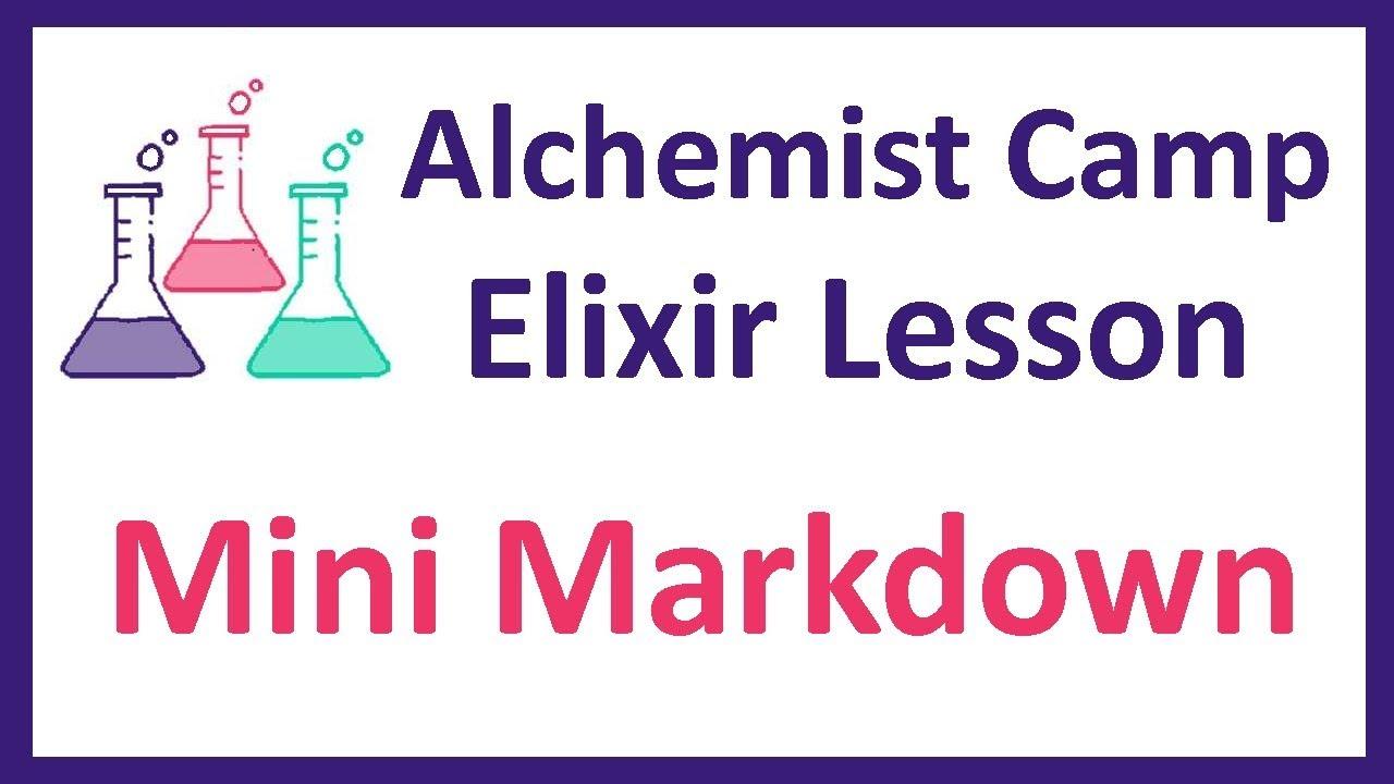 Elixir learning: Mini Markdown