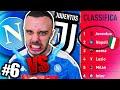 😱SCONTRO SCUDETTO🇮🇹!!! NAPOLI vs JUVENTUS | Carriera Allenatore #6