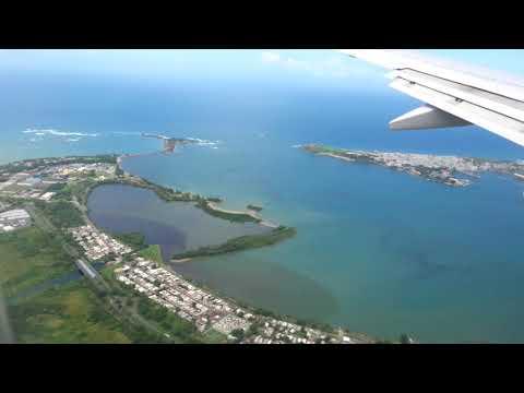 Landing San Juan Puerto Rico Sept 2017