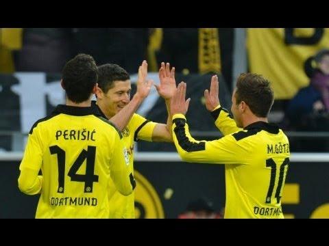 2:1 Robert Lewandowski: Borussia Dortmund - Greuther Fürth (3:1) Bundesliga 12. Spieltag BVB