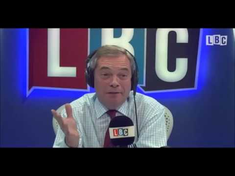 Nigel Farage Hosts LBC Full Radio Show 02/01/17