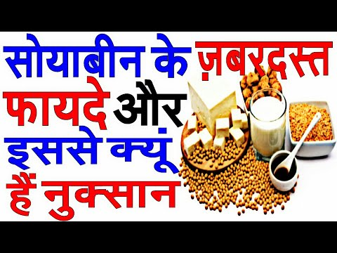 Soybean Benefit hindi. Soybean ke fayde or nuksan/soybean ke fayde/sobean ke nuksan