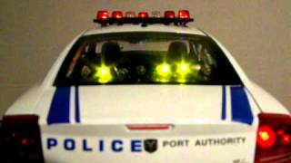 1/18 New York/ New Jersey Port Authority Police Custom Dodge Charger W/ Lights NY/NJ