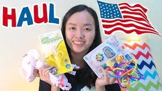HAUL ♡ Mở hộp đồ chơi Ba mua cho Ori ở Mỹ ♡ Ori Family VLOG 22