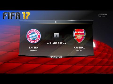 FIFA 17 - FC Bayern München vs. Arsenal @ Allianz Arena