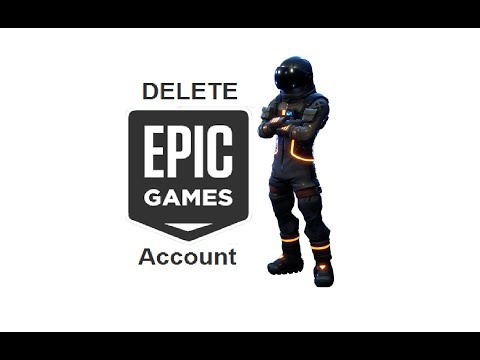 How To Delete Your Epic Games/Fortnite Account Permanently | The Exact Method